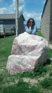 A Ton (or more) of Rose Quartz at the 1880 Village